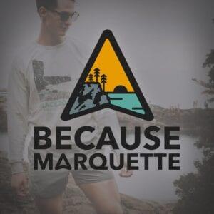 Because Marquette Logo